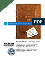 The Mind's Lie Flyer for Website