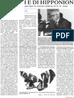 1988 - M. PAOLETTI Di Locri e Di Hipponi