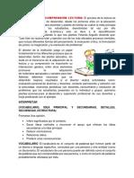 Habilidades de Comprensión Lectora, Proponer (Solución Conflictos, Generación de Hipótesis,), Estrategias de Lectura