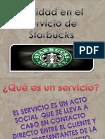SERVICIO Starbucks