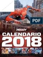 Calendario Hobby Consolas 2018