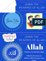 RLM 99 Names of Allah Countdown 1 20
