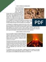 Como Se Forman Los Hormigueros Y como se forma la lava del volcan