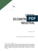 Cos to s de Cons Trucci on Industrial
