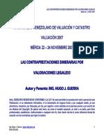Hugo j. Guerra Xi Congreso Venezolano de Valuacion y Catastro