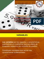 Exposicion de Variables