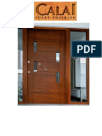 Catálogo Puertas CALAI