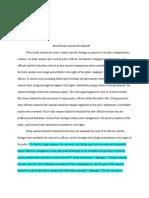 argumentive essay p6