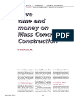 Save Time and Money on Mass Concrete