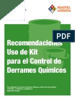 Diptico Control de Derrames