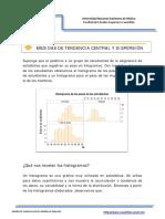 1. Medidas de Tendencia Central y Dispersion