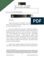 Aula 1 PF 2013 Criminologia Teoria e Exercícios Comentados Aula 1 - PF 2013 Criminologia Teoria e Exercícios Comentados.