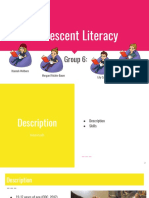 lis 664 group 6  adolecent literacy  1