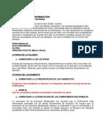 COMENTARIOS CONFIRMACION +