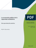 La Economia Politica de La Capacidad Estadistica Una Aproximacion Practica