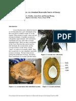 Cocos Nucifera Paper