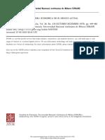 Reforma Politica y Reforma Economica en El Mexico Actual