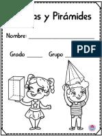 Cuaderno de Prismas y Pirámides