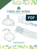 E-book Cardápio Semanal Com Receitas