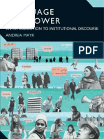 36677712 Language and Power an Introduction to Institutional Discourse