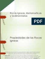 Propiedades de Las Rocas Igneas