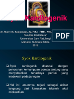 Dr. Starry H. Rampengan - Syok Kardiogenik Starry PPT April 2012