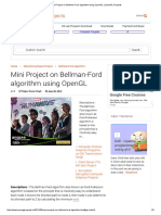 Mini Project on Bellman-Ford Algorithm Using OpenGL _ OpenGL Projects