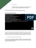 Instalando El DHCP en Ubuntu