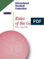 Handball International Rules