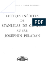 Guaita Lettres Inedites