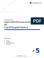 05 Top 20 English Verbs 3