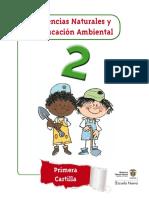 Ciencias Naturales y Educación Ambiental 2 PRIMERA CARTILLA