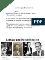 SEx Linkage & Recombination