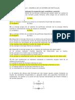 Cuestionario Dinamica de un sistema de particulas.