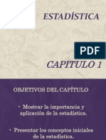 1 - Principios de Estadística Capitulo 1