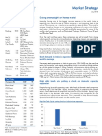 Market Strategy July 2010