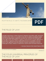 From the Rule of Law to the Environmental Rule of Law