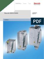 Bosch Manual REXROTH BOS6000 Users Manual