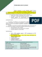 Tromboembolismo Pulmonar Revisão