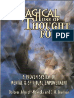 Magical Use of Thought Forms Dolores Ashcroft Nowicki and J H Brennan