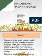 FARMAKOGENOMIK PENGOBATAN ANTIDEPRESI