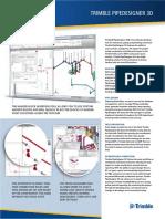Datasheet Trimble PipeDesigner 3D LR