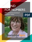 A Mind for Numbers - Barbara Oakley - Memorization Booklet