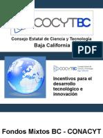 Incentivos para el desarrollo tecnológico e innovación