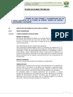 01-Especificaciones Técnicas Agua