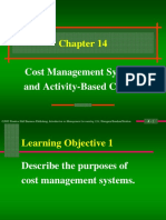 b14 Cost Management ABC