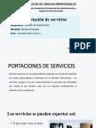 Presentación1 Exportacion de Servicios