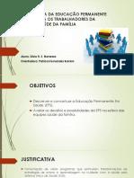Apresentação Silvio Menezes