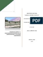 Caraterización Ecológica de Un Agroecosistema y Un Sistema Agroforestal