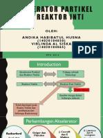 Akselerator Partikel Dan Reactor Nuklir
